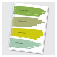 Favorite Colors - Boston Fern Journal by Rock Scissor Paper