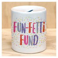 Fun-fetti Coin Bank