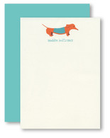 Doxie Personalized Stationery