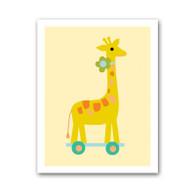 Giraffe Pull Toy Print