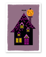 Haunted Mansion Halloween Card