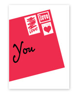 Love Letter Valentine's Day Card
