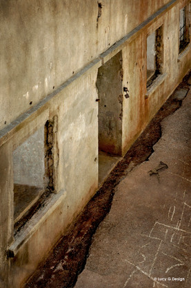 Toy Soldiers' - photograph of army barracks at North Head, Devonport, Auckland, art print for sale.