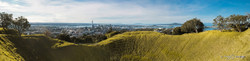Mount Eden crater (panoramic, to 1.4m)