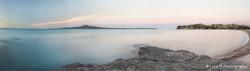 St Heliers Sunset (Rangitoto,whole image)