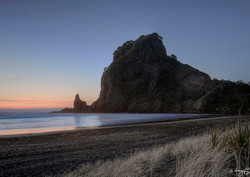 """Lion Rock"" West Coast, Piha landscape photo print, A3, unframed by Lucy G"