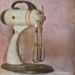 'Kitchenaid'' - vintage NZ photo artwork (canvas wall art / framed print)