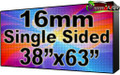 """Outdoor Full Color LED Programmable Sign - Front Access - Single Sided - 16mm- 37.8"""" x 62.99""""- 5 Year Warranty"""
