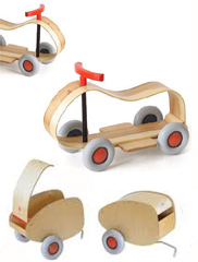 Max Push Car and Lorette Trailer