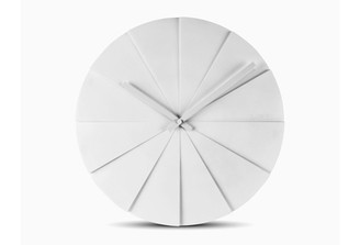LEFF SCOPE 45 WALL CLOCK (White) by Erwin Termaat