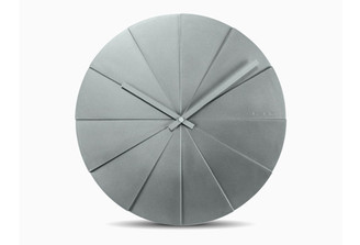 LEFF SCOPE 45 WALL CLOCK (Grey) by Erwin Termaat