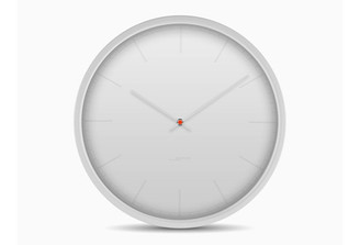 LEFF TONE 35 WALL CLOCK (White) design by Wiebe Teertstra