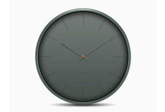 LEFF TONE 35 WALL CLOCK (Grey) design by Wiebe Teertstra