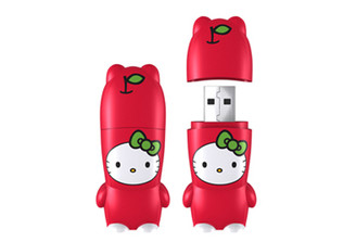 HELLO KITTY APPLE FLASH DRIVE by Mimoco