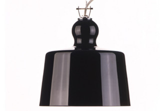 ACQUATINTA SUSPENDED LAMP - BLACK MURANO GLASS design by Michele DeLucchi