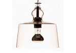 ACQUATINTA SUSPENDED LAMP - TRANSPARENT MURANO GLASS design by Michele DeLucchi