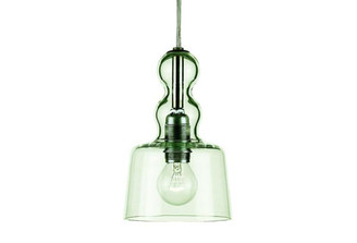 ACQUAMIKI TRANSPARENT GREEN PENDANT LAMP design by Michele DeLucchi