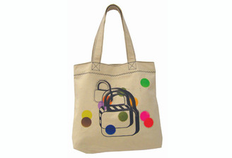 LOCK ORGANIC CANVAS TOTE