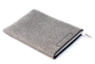 iPad Case by Pijama- Black and White Herringbone