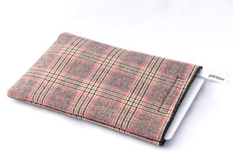 iPad Case by Pijama (Prince of Wales- brown and pink)