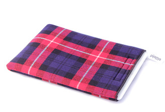 iPad Case by Pijama (Tartan- Red, Blue, White)