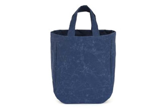 SIWA ROUND TOTE BAG (BLUE)