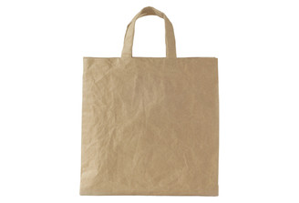 SIWA MEDIUM SQUARE TOTE BAG (BROWN)