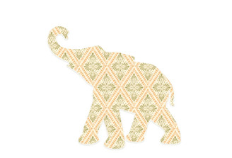 WALLPAPER WILDLIFE BABY ELEPHANT by Inke Heiland wm-babyelephant-0128