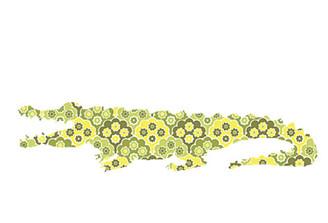 WALLPAPER WILDLIFE CROCODILE by Inke Heiland wm-crocodile-0185