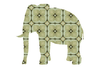 WALLPAPER WILDLIFE ELEPHANT by Inke Heiland wm-elephant-0076