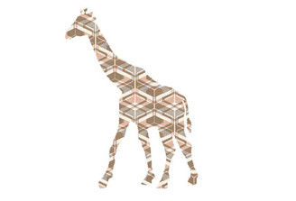 WALLPAPER WILDLIFE GIRAFFE by Inke Heiland wm-giraffe-0159