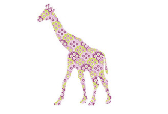 WALLPAPER WILDLIFE GIRAFFE by Inke Heiland wm-giraffe-0184