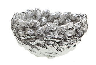 PEANUT BOWL SILVER design by Harry Allen