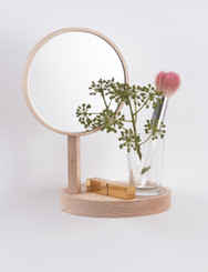Belvédère shelf with mirror designed by Inga Sempé for Moustache