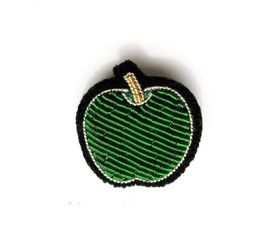 SMALL APPLE PIN BY MACON AND LESQUOY