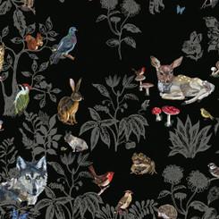 SCENIC WALLPAPER- Forêt noire designed by Nathalie Lété