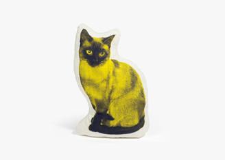 SALVOR FAUNA SIAMESE CAT MINI PILLOW designed by ross menuez