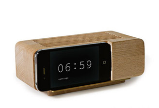 ALARM DOCK iPHONE 5 design by Jonas Damon