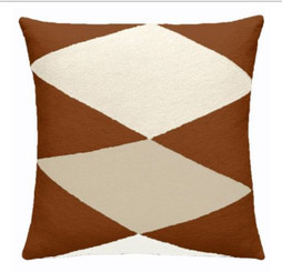 JUDY ROSS WOOL PILLOW- ACE (sierra/cream/oyster)