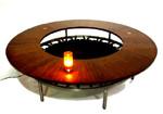 TRAMPOLINE COFFEE TABLE design by Alberto Bonomi
