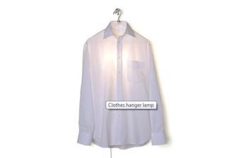 CLOTHES HANGER LAMP design by Hector Serrano