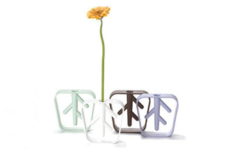 NEKKO SINGLE FLOWER VASE design by & Design