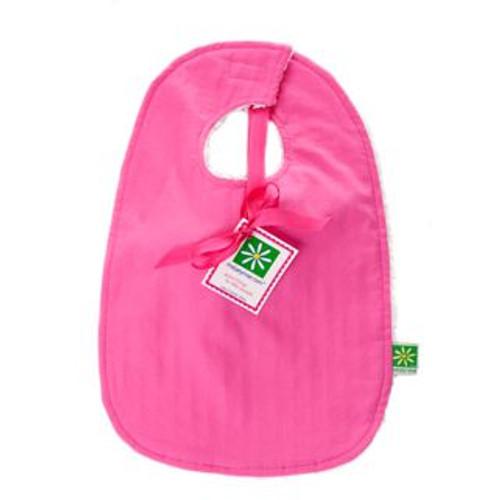 Solid Pink Bib