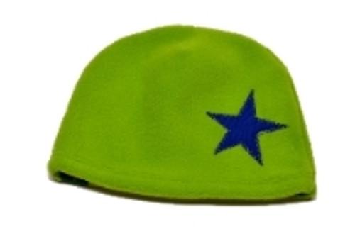 Fleece Hat - Green Star