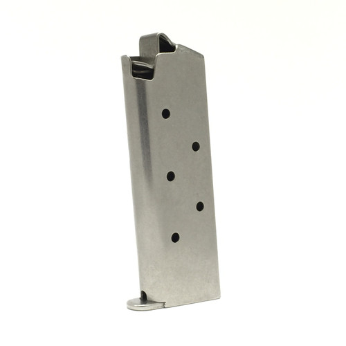 Colt 380 Mustang - Stainless 6 RD Magazine