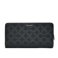 Madison OP Art Skinny Sateen  Wallet