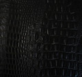 JJ WILD CROC Midnight Black (True Black) Vinyl 56""