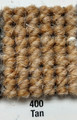"Imported Wool Square Weave Carpet 80"" - 400 Tan"