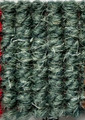 "Imported Wool Square Weave Carpet 65"" - 320 Dark Green"