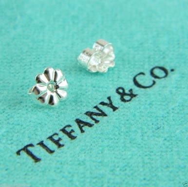 Sterling Silver Earring Backs Image 1